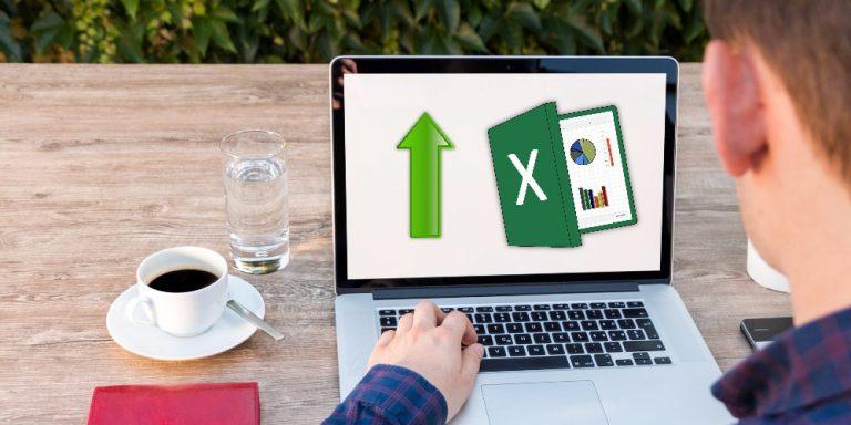Excel-Tabelle horizontal und vertikal fixieren