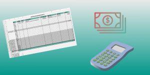 Kostenübersicht-Vorlage für Rechnungen – Excel-Download